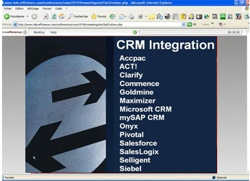 Conferenceware for CRM 2.1 screenshot