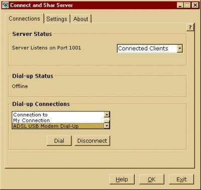 Connect and Shar 1.02 screenshot