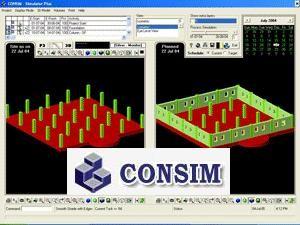 CONSIM 2 screenshot