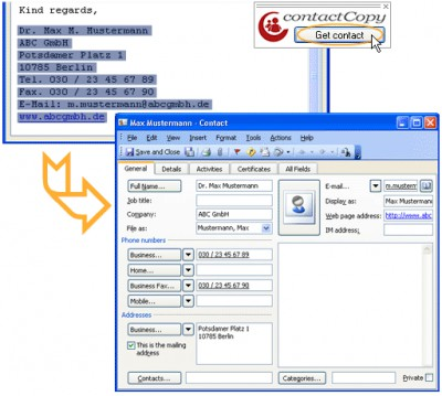 ContactCopy 3.0.2.106 screenshot