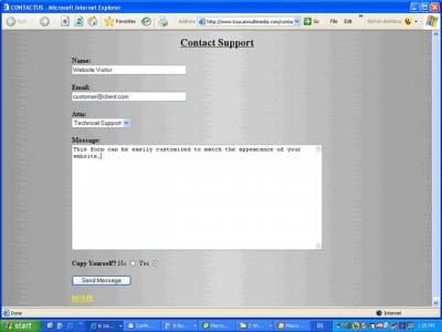 CONTACTUS 1.00 screenshot