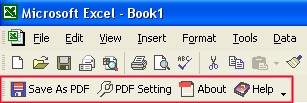 Convert XLS to PDF For Excel 4.00 screenshot