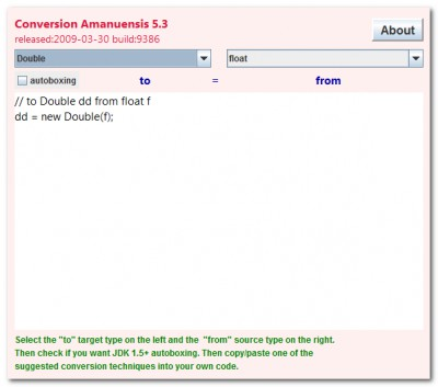Converter 5.3 screenshot