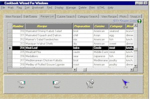 Cookbook Wizard 2.0.7 screenshot
