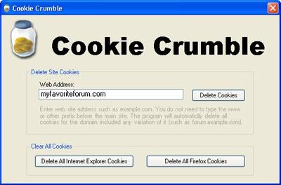 Cookie Crumble 1.0 screenshot