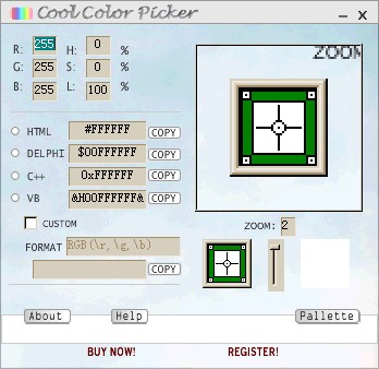 Cool Color Picker 1.10 screenshot