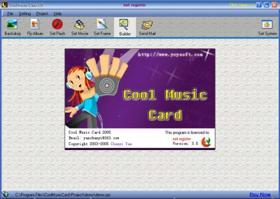Cool Music Card 3.6 screenshot