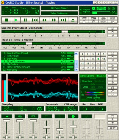 CoolCD Studio 1.5 screenshot