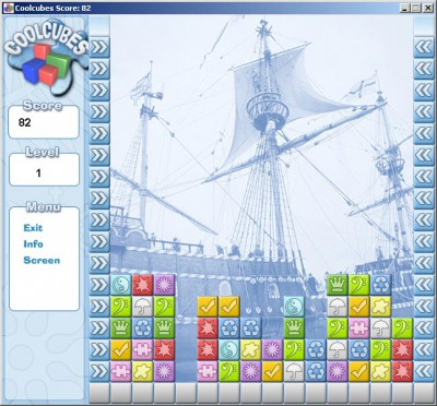 Coolcubes 1.0 screenshot