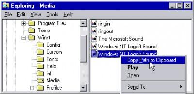 Copy Path to Clipboard 1.2.3.0 screenshot