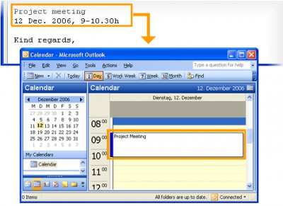 copy2calendar 3.0.0.60 screenshot