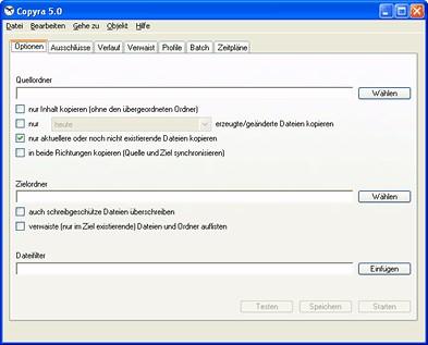 Copyra 5.0.6 screenshot