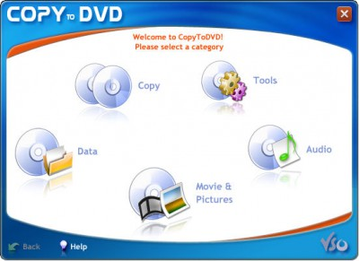 CopyToDVD 4.3.1.12 screenshot