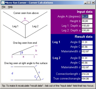 Corner 1.5.2 screenshot