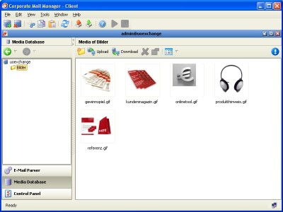 Corporate Mail Manager for Linux 1.3.1 screenshot