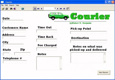 Courier 7.0 screenshot