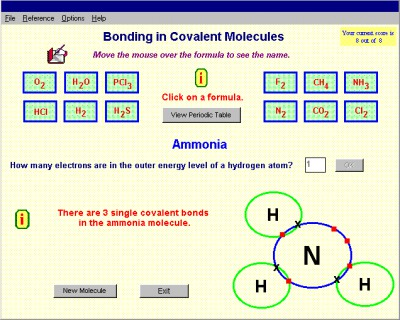 Covalent Bonding 1.0 screenshot