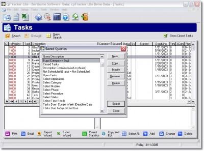 cpTracker Lite 2.3 screenshot