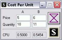 CPU 1.001 screenshot