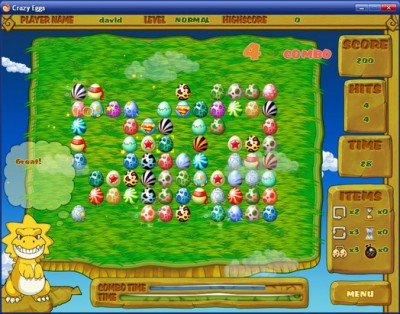 Crazy Eggs MAC 1.1.8.2 screenshot