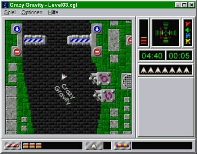 Crazy Gravity 2004 2.43D screenshot