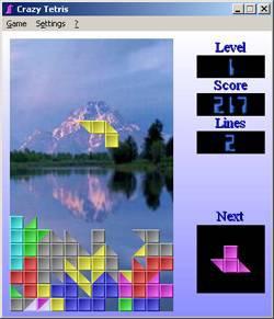 Crazy Tetris 2.21 screenshot