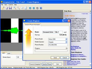 Create Ringtone 5.1 screenshot