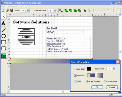 Create Your Business Cards 1.5 screenshot