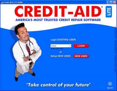 Credit-Aid Credit Repair Software 3.0.2 screenshot