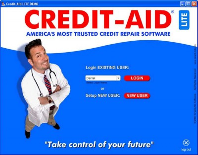 Credit Doctor Software: Repair Bad Credit Report 2 1.0.3.2 screenshot