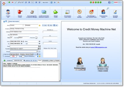 Credit Money Machine Net 02-26-2012 screenshot