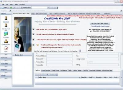 CreditWin Pro 1.0 screenshot
