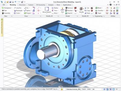 Creo Elements/Direct Modeling Express 4.0 screenshot