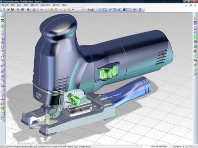 Creo Elements/Direct Modeling PE 3.0 screenshot