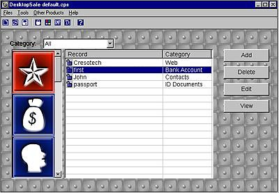 Cresotech DesktopSafe Lite 1.12 screenshot