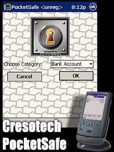 Cresotech PocketSafe 1.32 screenshot
