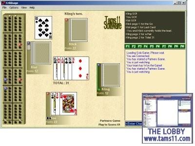 Cribbage 2.0.4.12 screenshot