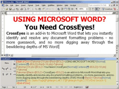 CrossEyes 5.0.10 screenshot