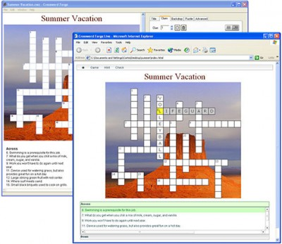Crossword Forge 7.3 screenshot