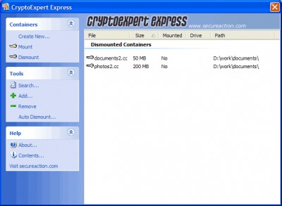 CryptoExpert Express 2.1 screenshot