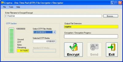 Cryptra 4.2.1.0 screenshot