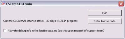 CSCatchAll 2.00 screenshot