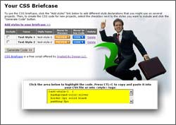 CSS Briefcase 1.5 screenshot