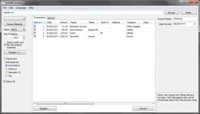 CSV2IIF 4.0.7 screenshot