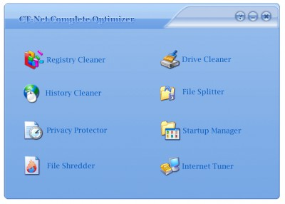 CT-Net Complete Optimizer 1.0 screenshot