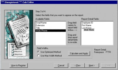 Cub Editor for MS Access 2000 2002 and 2003 2000.2.2 screenshot