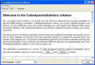 CubeApacheStatistics 1.1 screenshot