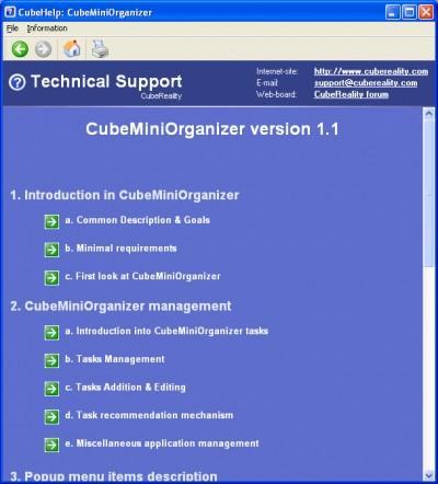 CubeHelpSDK 1.7 screenshot