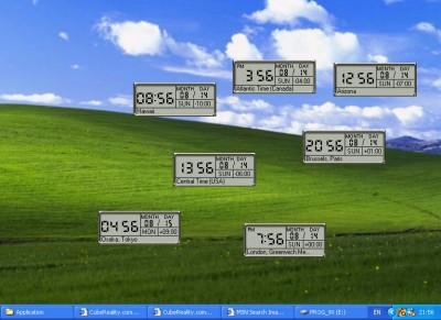 CubeMultiClock 1.2 screenshot