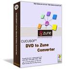 Cucusoft-DVD To Zune Converter 6.02 screenshot